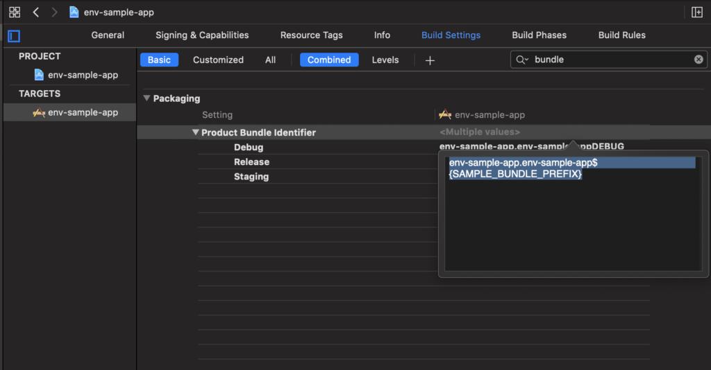 Xcode Bundle Identifier