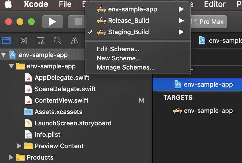Xcode Staging_Build