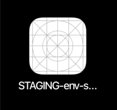 Xcode STAGING-env-sample-app