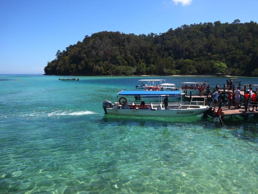 サピ島船着き場写真