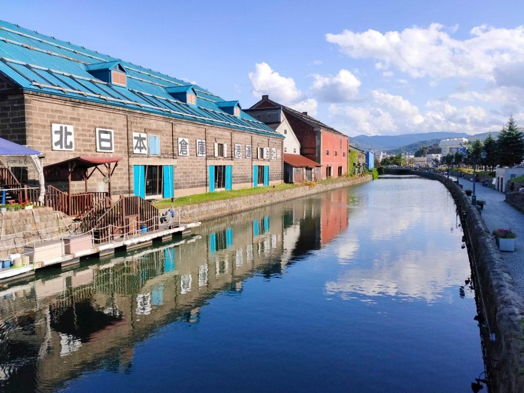 小樽運河写真