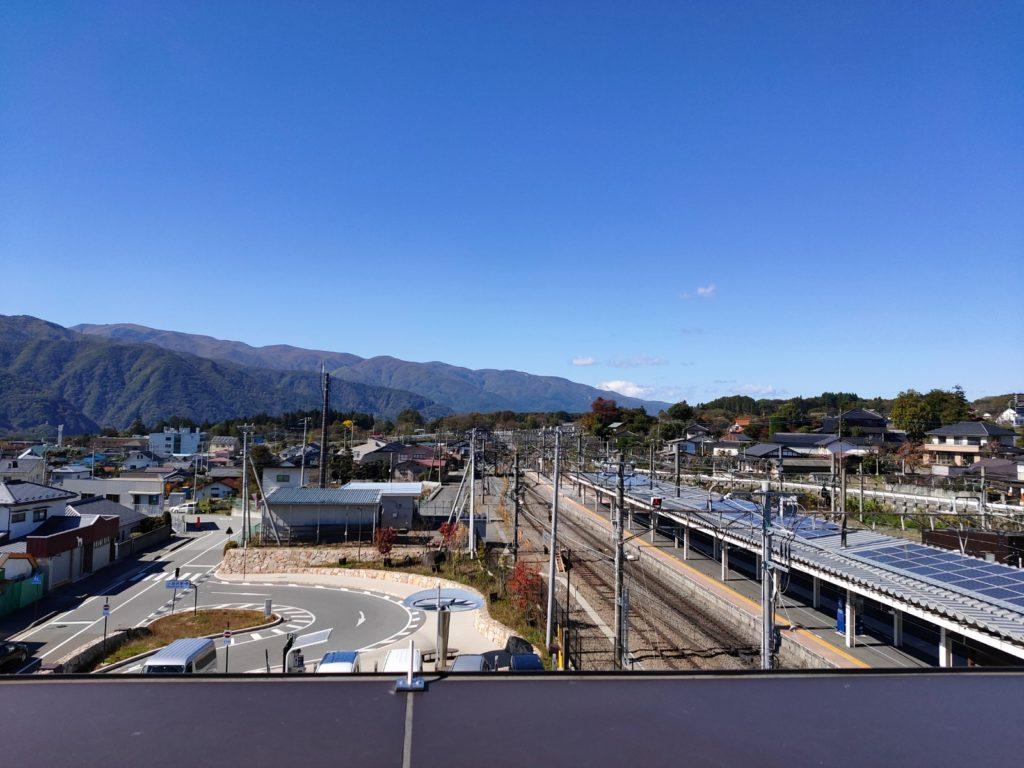 小淵沢駅写真