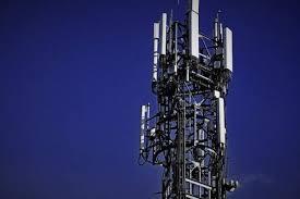電波で基地局と接続